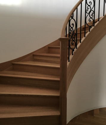 Staircase Sanding