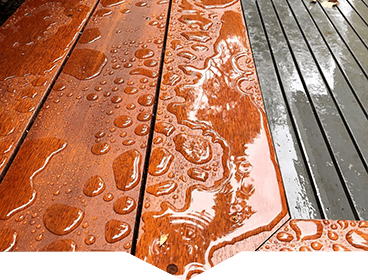deck finishing with woca oils